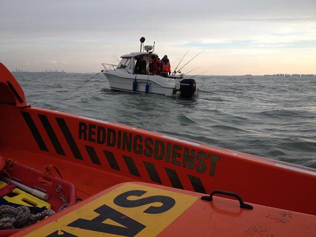 vissersboot met motorpanne 27/11/2013