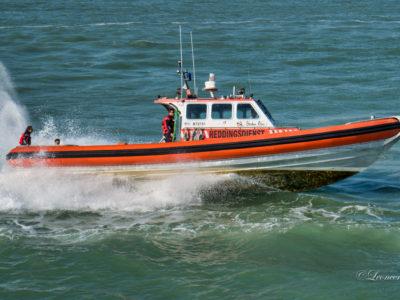 Motorboot Nima met motorproblemen