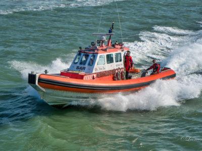 Visboot O190 met motor problemen
