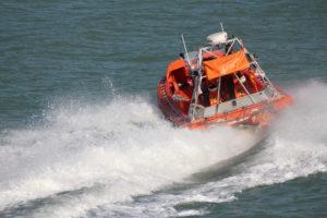 Zeilboot Eolus met motorpech
