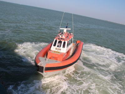 Zeilboot Duvel met motorpech