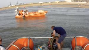 Spitsuur voor de VBZR. Reddingsboot krijgt panne