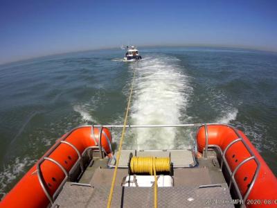 Ook vandaag visboot met motorproblemen