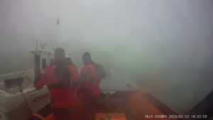 Radar kapot in zeer dichte mist